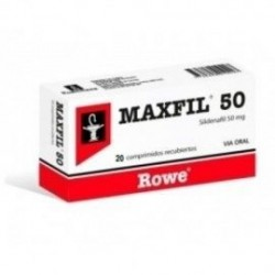 MAXFIL 50 MG X 20 COMP. (SILDENAFIL) $899