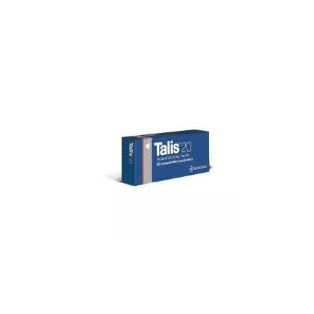 TALIS 20MG X 20 COMP. (TADALAFILO) $989