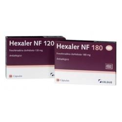 Hexaler 180 mg x 30 caps. $682